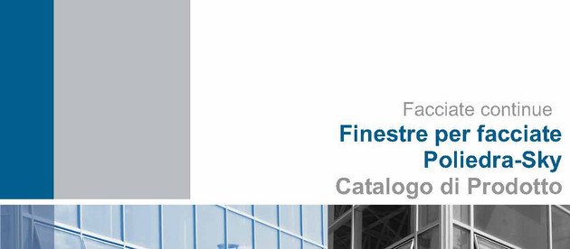 Update of the catalogue WINDOWS FOR CURTAIN WALLS