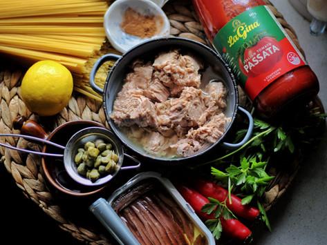 Lockdown Recipe- Jamie Oliver's Puttanesca Spaghetti
