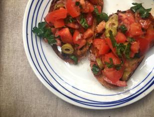 Recipe- Breakfast bruschetta