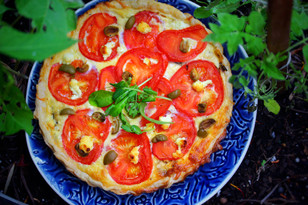 Recipe: Vegetarian deli quiche tart