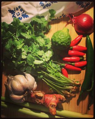 Thai Green Curry, Recipe