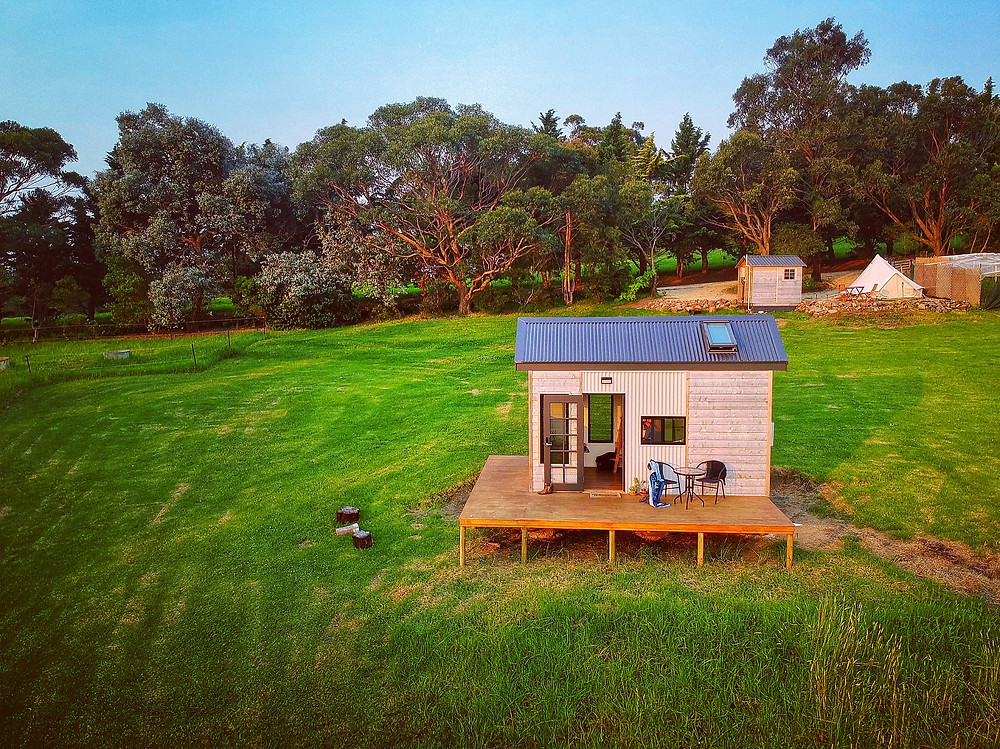 clovar-creative-tilba-lake-camp-eco-pod-tiny-house-drone