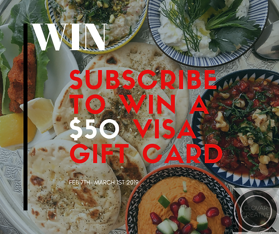 WIN SUBSCRIBE TODAY TO WIN A $50 VISA GI
