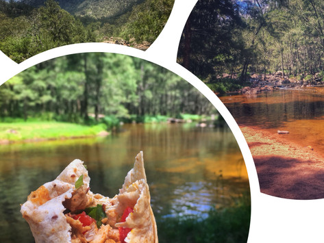Easy camping cooking | Recipe Healthy chicken wraps
