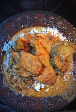 Recipe: Slow cooker butter chicken