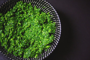 How to make Kale Pesto from the I Quit Sugar Cookbook