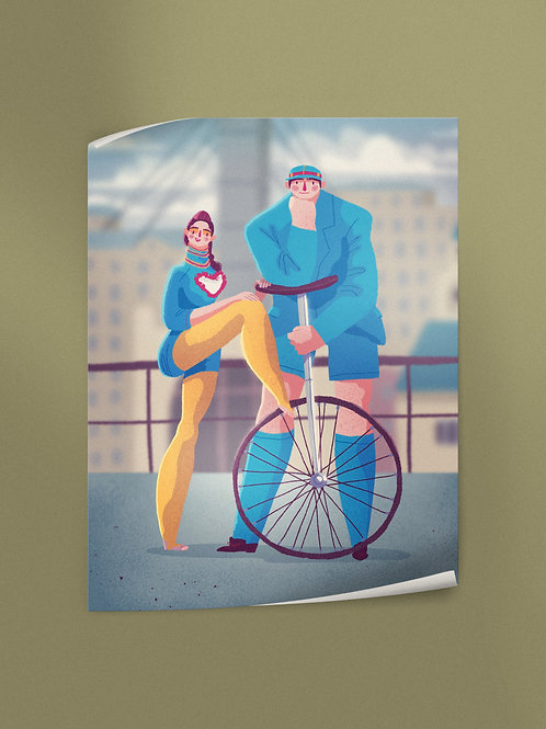 Circus is Coming to Downtown | Poster