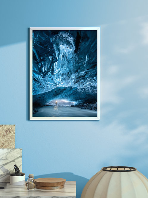 Ice Cave | Framed Poster