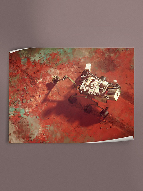 Mars Science Laboratory - Curiosity | Poster