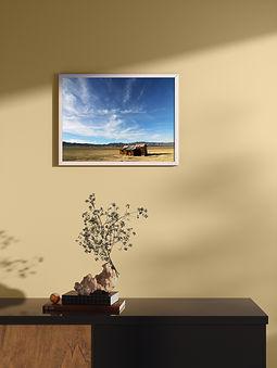 Abandoned shed | Framed Poster