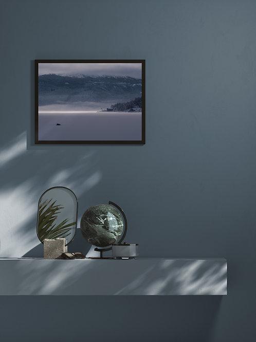 Frozen Lake | Framed Poster