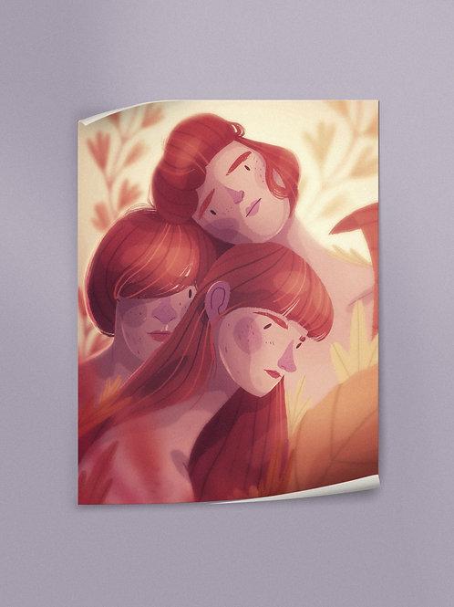 Polyamorous Trio | Poster
