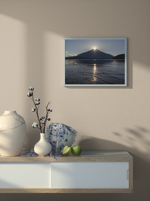 Diamond Fuji | Framed Poster