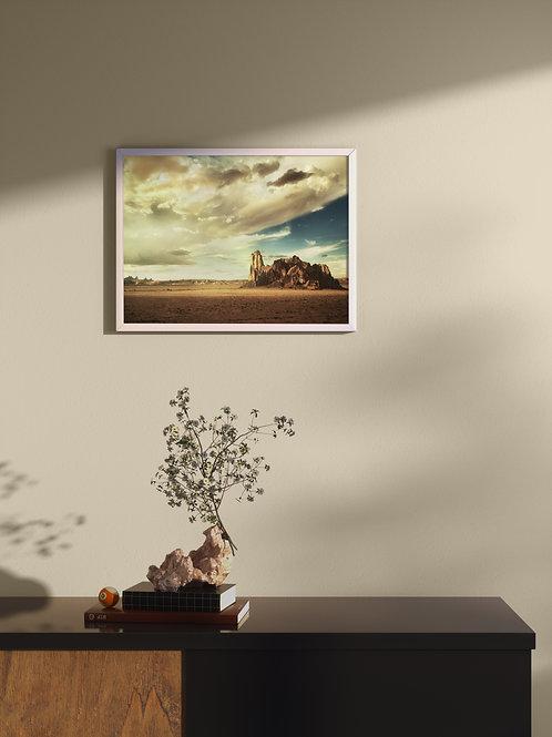 Sacred Land | Framed Poster
