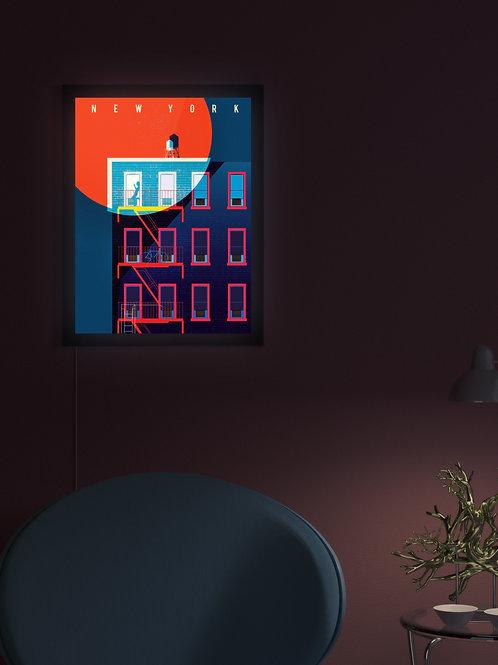 Blood Moon New York | Lightbox
