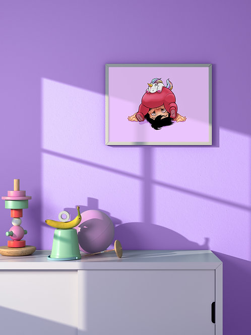 Wanna Play? (2) | Framed Poster