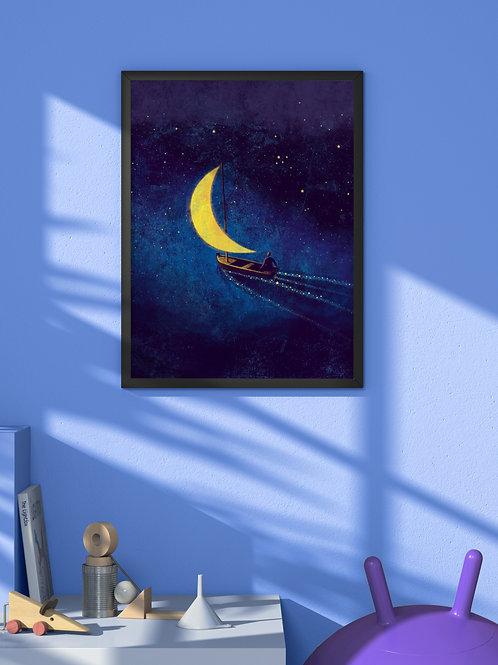 Sailing | Framed Poster