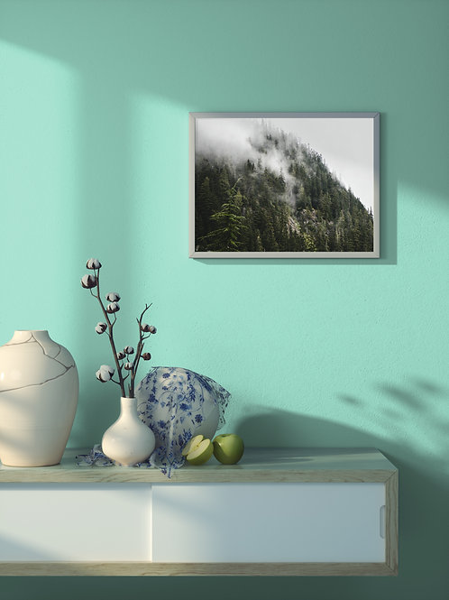 Mist and Shadow | Framed Poster