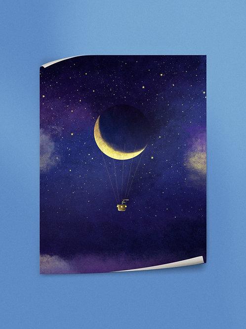 Lunar Flight | Poster