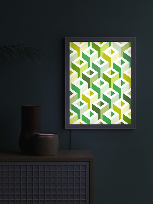 Geometric Pattern: Tube: Spring | Lightbox