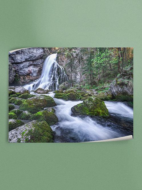 Mountain Stream | Salzburg | Poster