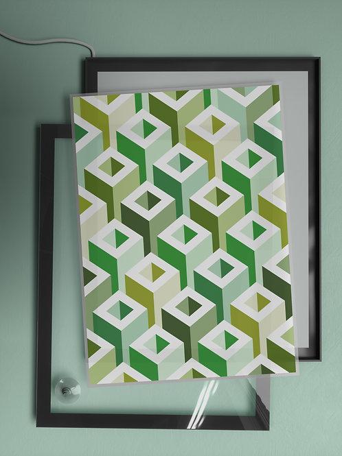 Geometric Pattern: Tube: Spring | Film Insert