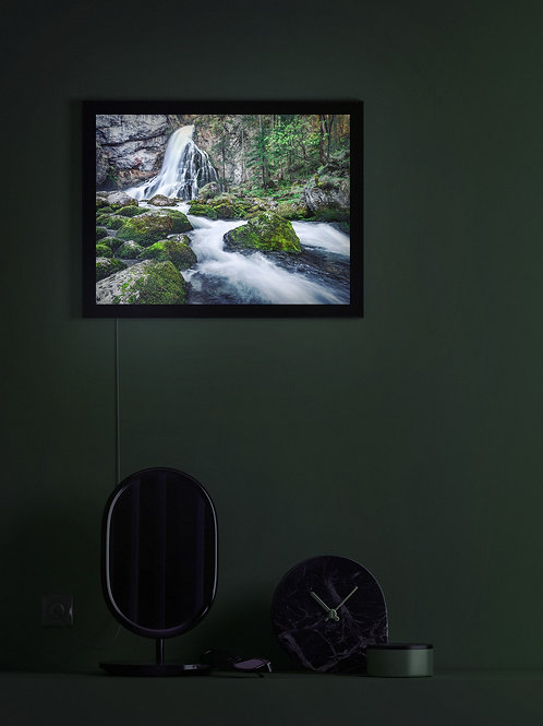 Mountain Stream | Salzburg | Lightbox