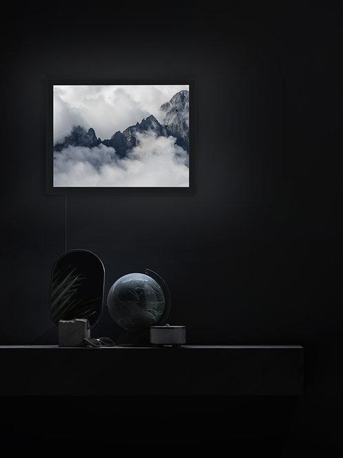 Cloudy Cascade Peaks | Lightbox