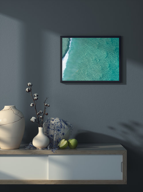 Crystal Flow | Framed Poster