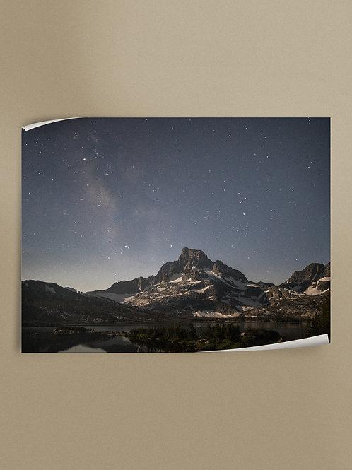 Eastern Sierra Night Sky | Poster