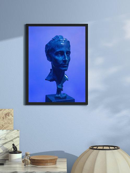 Blue Self   Framed Poster