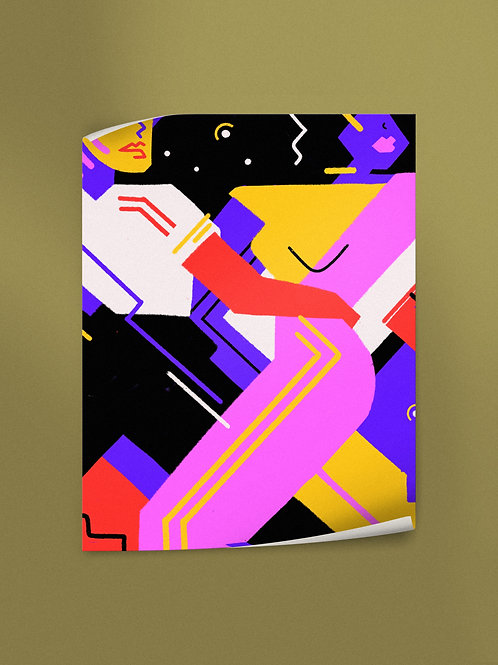 Hypnotic Tango | Poster