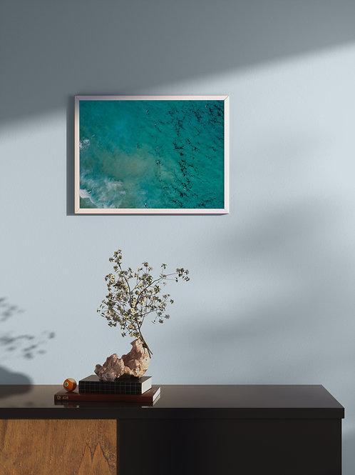 Surf Scramble | Framed Poster