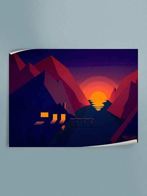 Sunset | Poster