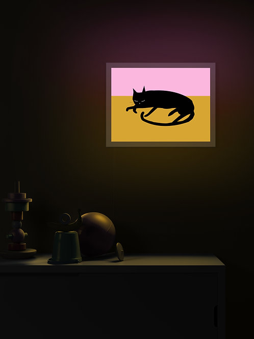 Sleepy Cat | Lightbox