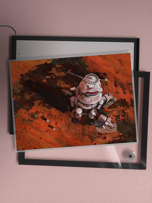 Ambition 1 Lander | Film Insert