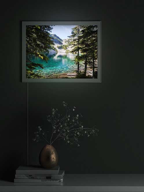 Crystal Clear Alpine Lake | Lightbox