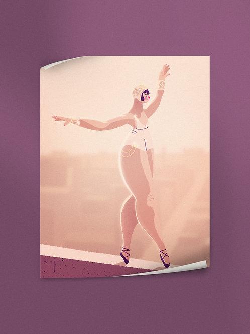Circus Acrobat | Poster