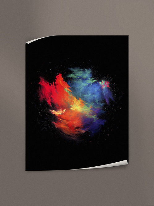 Prism - Galaxy Merger | Poster