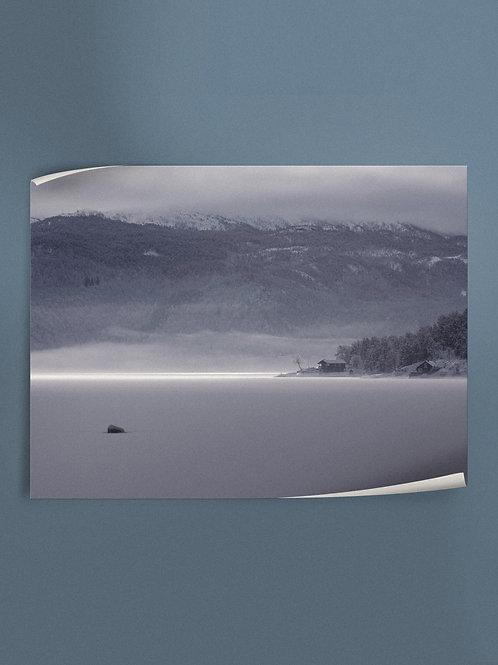 Frozen Lake | Poster