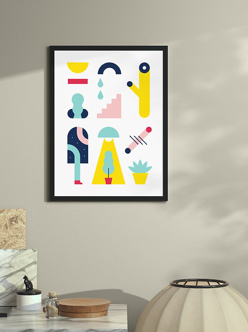 Thoughts | Framed Poster