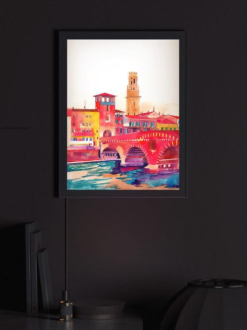 Verona Bridge | Lightbox