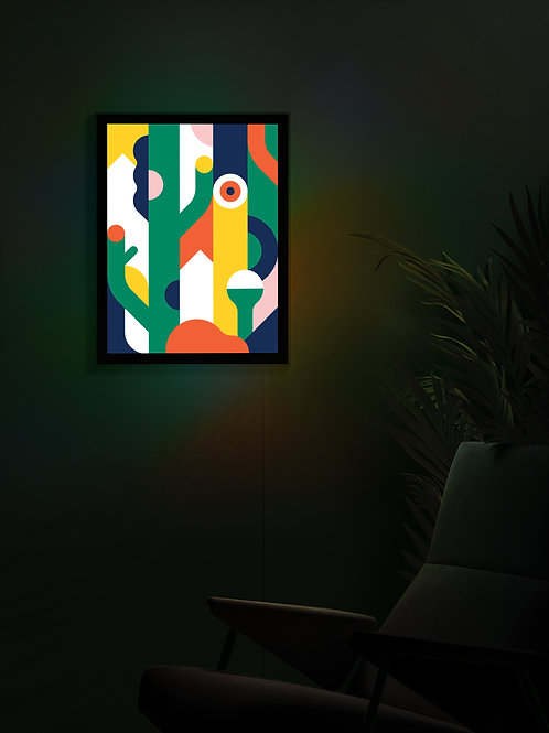 Your own art in a Lightbox
