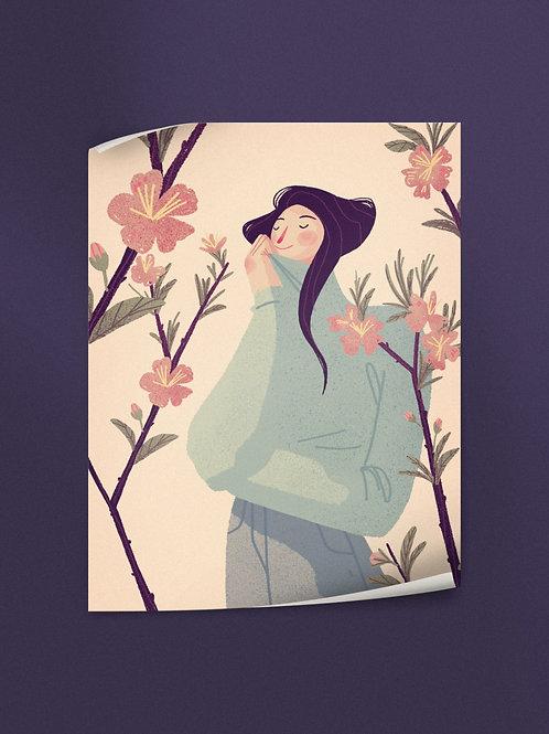 Almond Tree Blossom | Poster