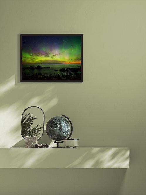 Lights 2 | Framed Poster