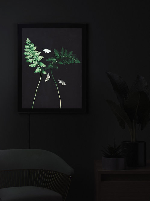 The crepe of the night is embroidered with moths | Lightbox