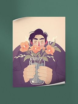A gift for spring   Poster