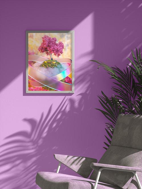 Stranded in Beauty | Framed Poster