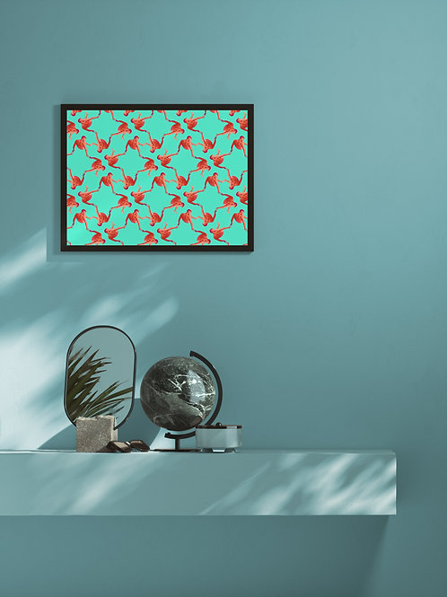 Texture 05 | Framed Poster