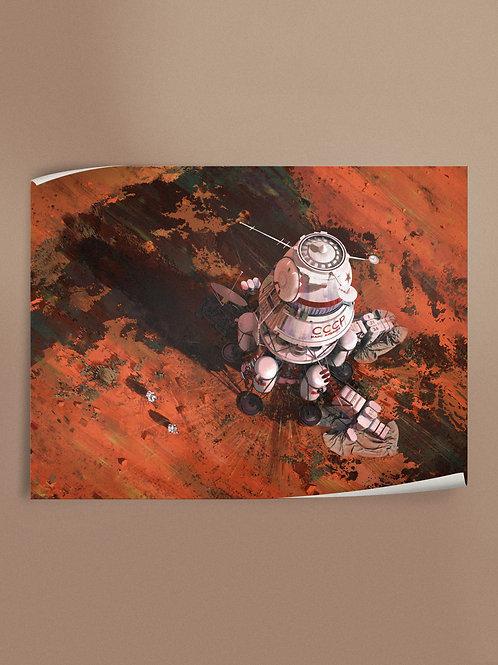 Ambition 1 Lander   Poster
